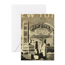 Vintage USA New York Greeting Cards