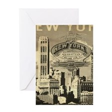 Vintage USA New York Greeting Cards