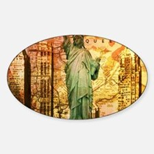 cool statue of liberty Decal