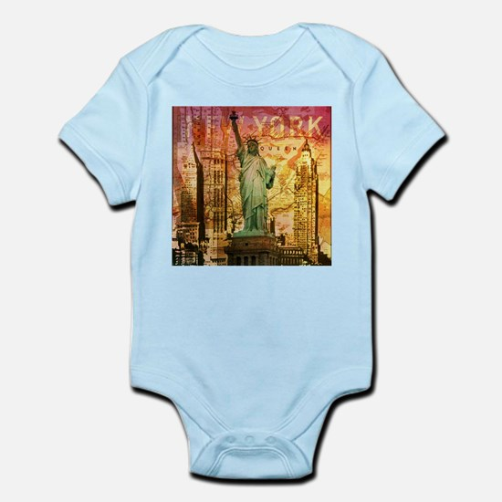cool statue of liberty Body Suit