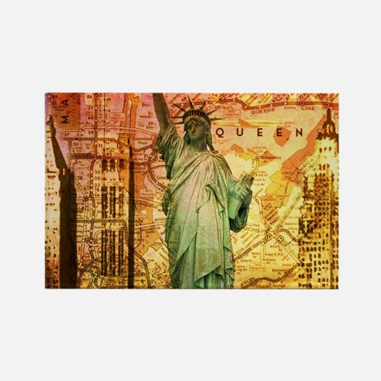 cool statue of liberty Magnets