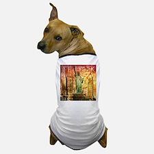 New York Statue of Liberty Dog T-Shirt