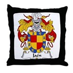Jaen Family Crest Throw Pillow