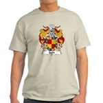Jaen Family Crest Light T-Shirt