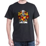 Jaen Family Crest Dark T-Shirt