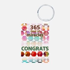 1 Year (miracle) Keychains