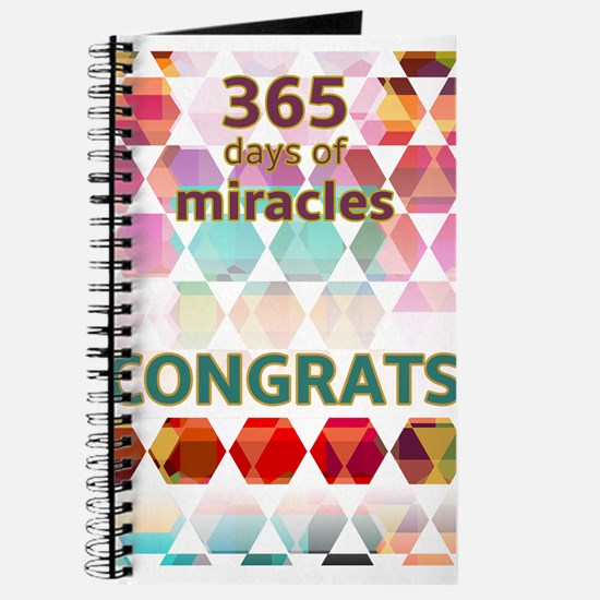 1 Year (miracle) Journal