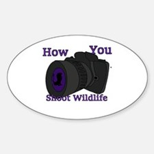 How to shoot wildlife Decal