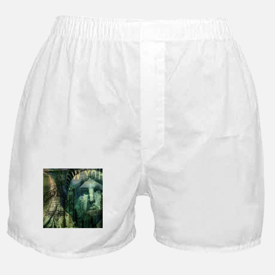 cool statue of liberty Boxer Shorts