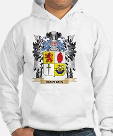 Macbain Coat of Arms - Family Cr Hoodie