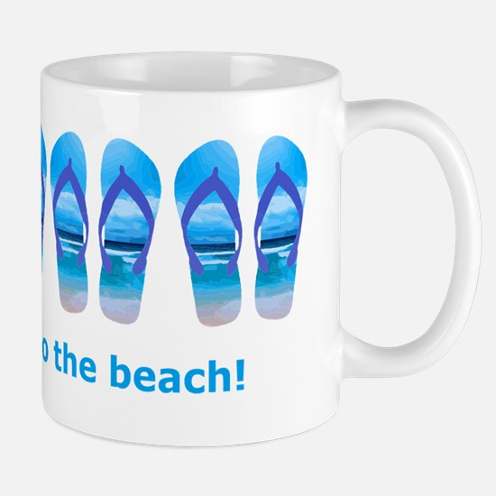 Take me to the Beach Flip Flop Beach Sandal Quote