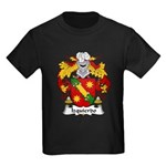 Izquierdo Family Crest Kids Dark T-Shirt