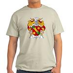 Izquierdo Family Crest Light T-Shirt
