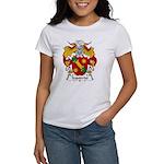 Izquierdo Family Crest Women's T-Shirt