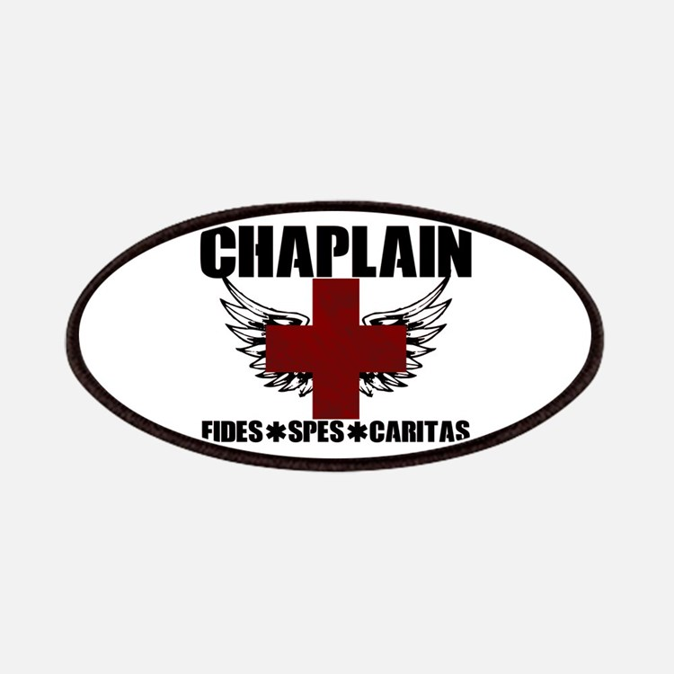 Winged Cross Chaplain Patch