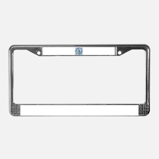 Unique Alicia License Plate Frame