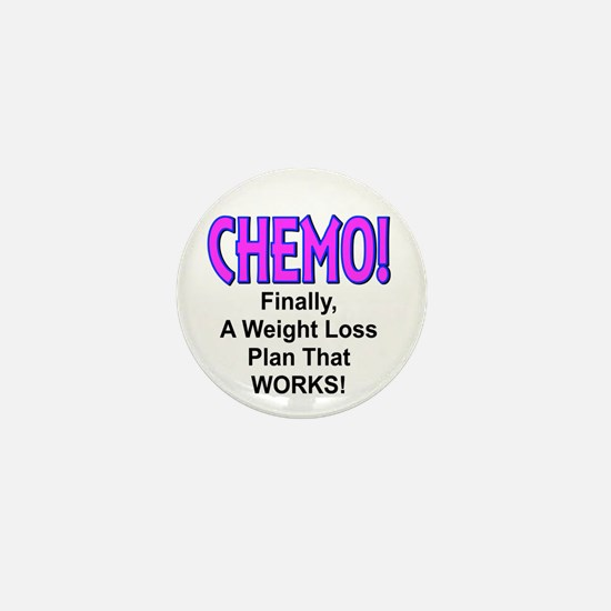 Chemo Weight Loss Mini Button