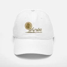 Palm Tree Aruba Baseball Baseball Cap