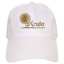 Palm Tree Aruba Baseball Cap