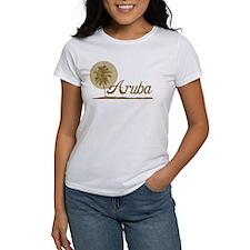 Palm Tree Aruba Tee