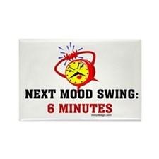 Mood Swing Rectangle Magnet