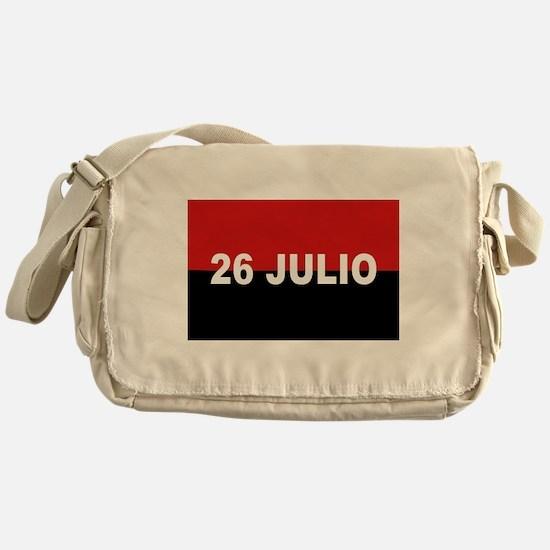 M-26-7 Flag - Bandera del Movimient Messenger Bag