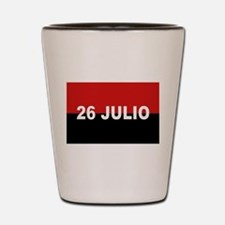 M-26-7 Flag - Bandera del Movimiento 2 Shot Glass