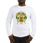 Isasi Family Crest Long Sleeve T-Shirt