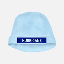 Hurricane Evac Route baby hat