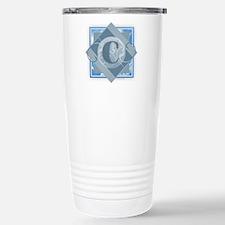C Monogram - Letter C - Travel Mug