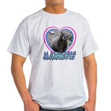 I Love ( Heart ) Marmots T-Shirt