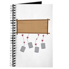 Newlywed Sign Journal