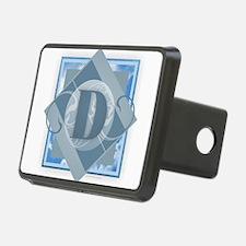 D Monogram - Letter D - Bl Hitch Cover