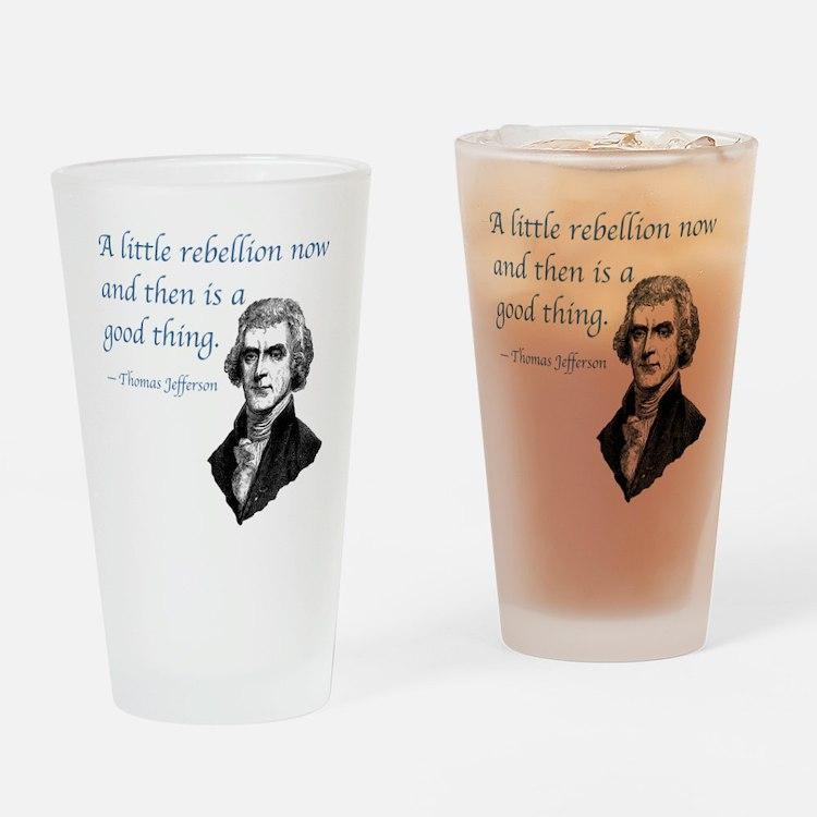 PRES03 LITTLE REBELLION Drinking Glass
