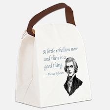 PRES03 LITTLE REBELLION Canvas Lunch Bag