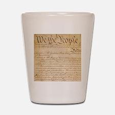 US CONSTITUTION Shot Glass