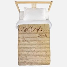 US CONSTITUTION Twin Duvet