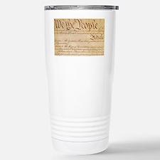US CONSTITUTION Travel Mug