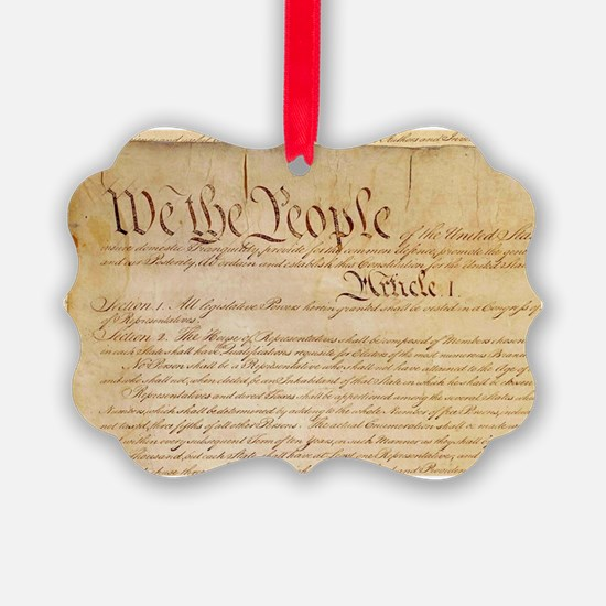 US CONSTITUTION Ornament