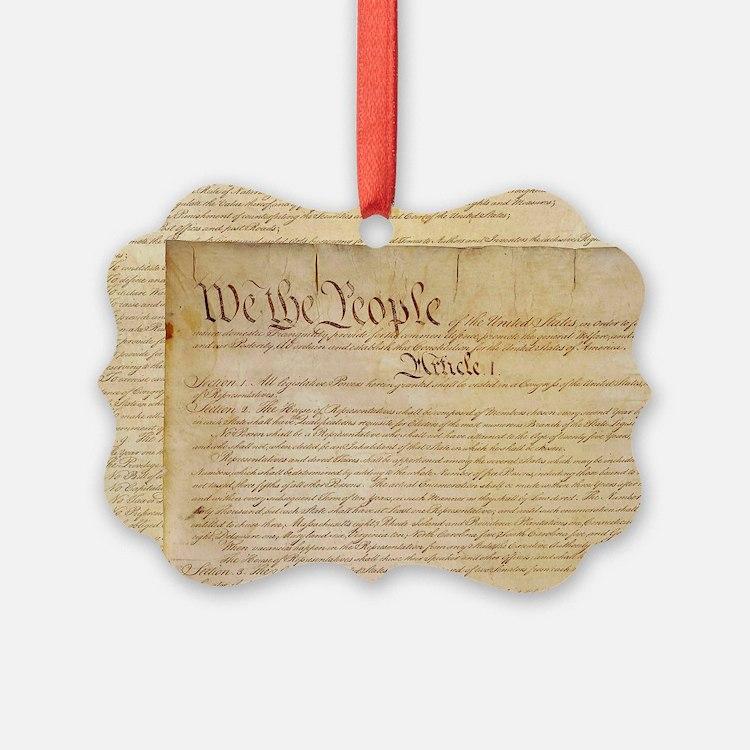 US CONSTITUTION Ornament