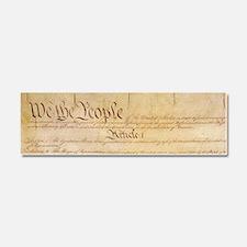 US CONSTITUTION Car Magnet 10 x 3