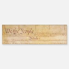 US CONSTITUTION Bumper Car Car Sticker