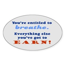 ENTITLED TO BREATHE Decal