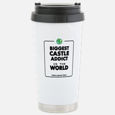 Biggest Castle Addict Stainless Steel Travel Mug
