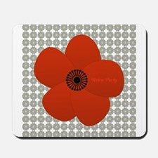 Bright Anemone Flower Mousepad