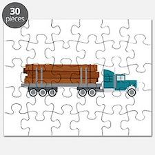 Semi Log Truck Puzzle