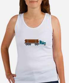 Semi Log Truck Tank Top