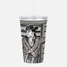 Cowboy Acrylic Double-wall Tumbler