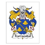 Irarrazabal Family Crest Small Poster