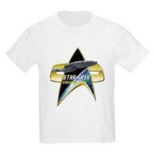 StarTrek Vogager Com badge T-Shirt